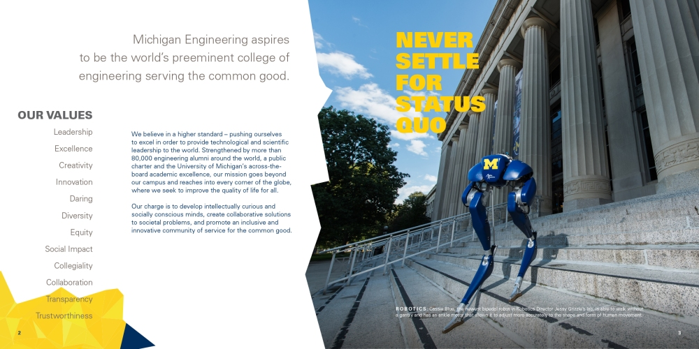 2018 Michigan Engineering Profile inside page