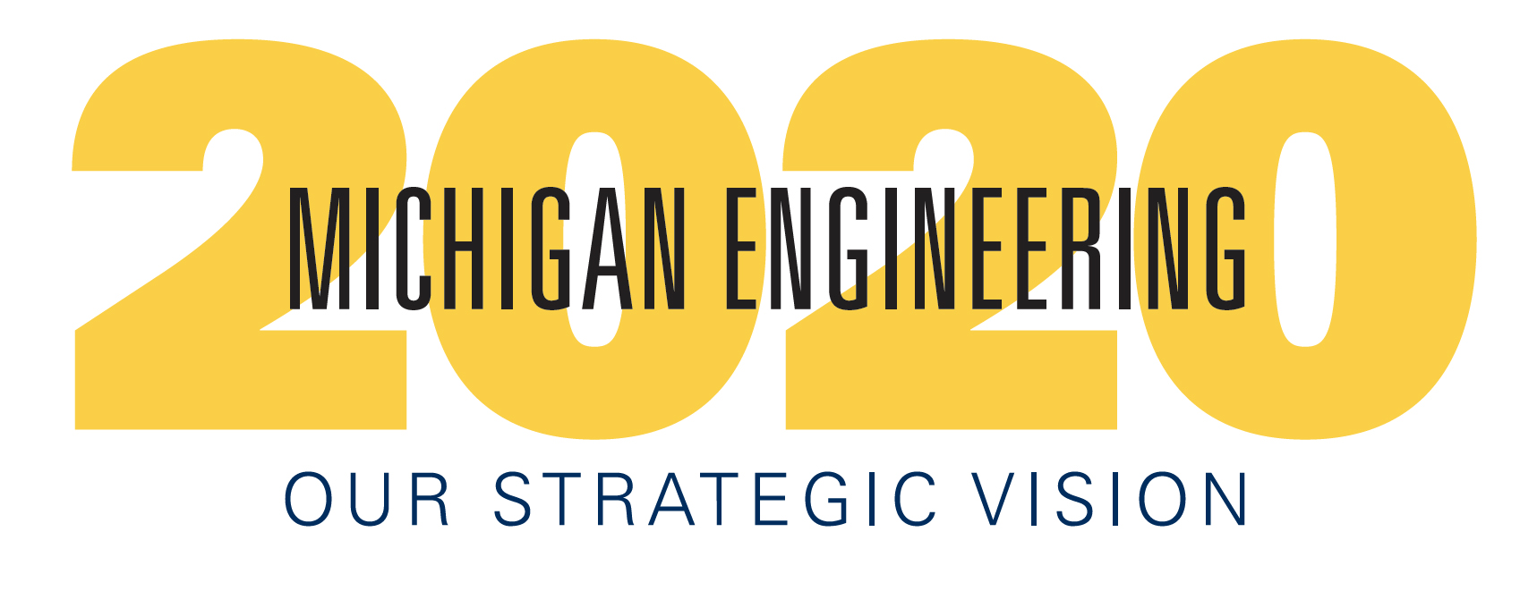 Michigan Engineering 2020 logo